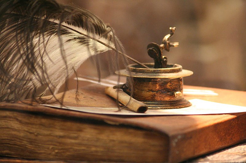 quill ink book