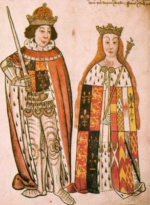 King Richard III and Queen Anne Neville