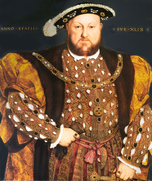 King Henry VIII (June 29, 1491 to January 28, 1547)