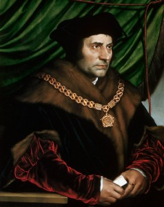 Sir Thomas More by Hans Holbein