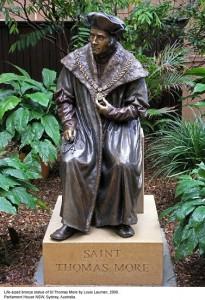 thomas more statue
