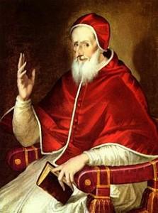 Pope Pus V