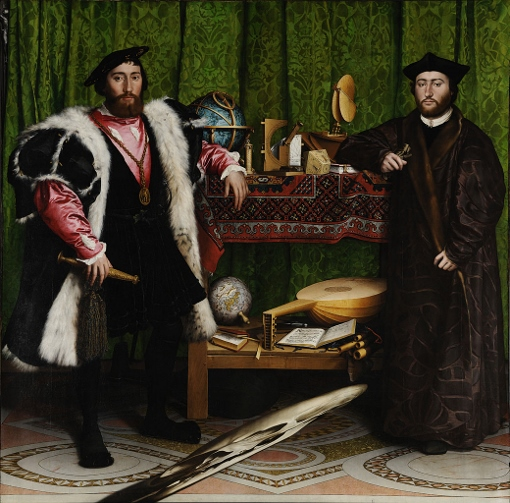 The Ambassadors, by Hans Holbein the Younger