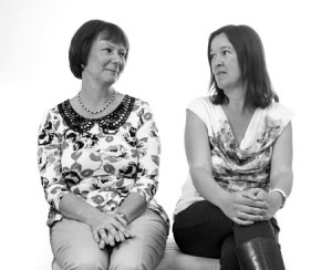 Clare Cherry (left) and Claire Ridgway (right)