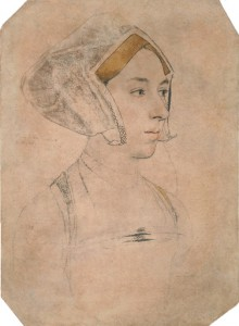 Sketch by Hans Holbein the Younger
