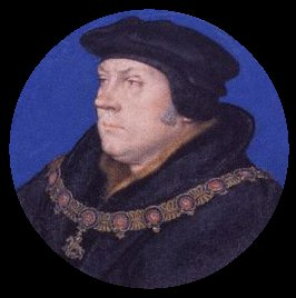 Thomas Cromwell miniature. (After Hans Holbein the Younger)