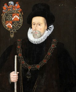 Sir Francis Knollys (Artist Unknown)