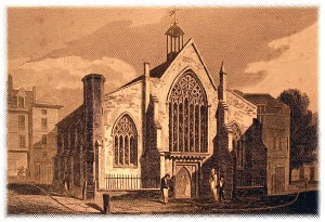 Austin Friars Church, later becoming the The oldest Dutch foundation in the world, was tragically destroyed on 15–16 October 1940 during the London Blitz of World War II.