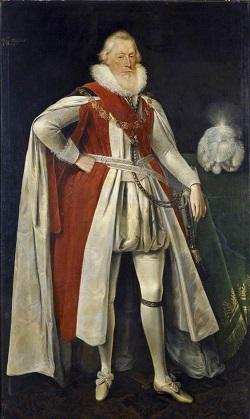 William Knollys, 1st Earl of Banbury (Artist: Daniel