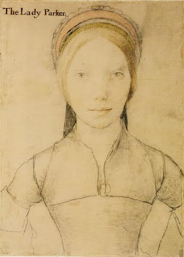This sketch by Hans Holbein the Younger is thought by some art historians to be Jane Parker Boleyn, Viscountess Rochford.
