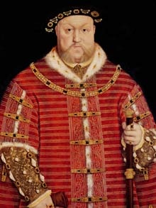 King Henry VIII (Hans Holbein the Younger)