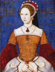 Mary Tudor, Queen of England Artist: Master John
