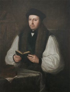 Thomas Cranmer, Archbishop of Canterbury (Photo Credit: Jesus College, Cambridge)