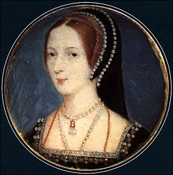 Queen Anne Boleyn miniature
