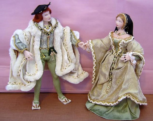 King Henry VIII with his beloved bride, Queen Cataline de Aragon