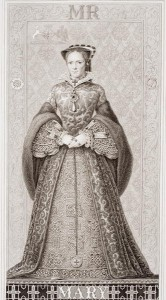 Queen Mary (1516-58) from 'Illustrations of English and Scottish History'