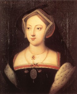 This portrait is thought to be Mary Boleyn Stafford Artist: Unknown