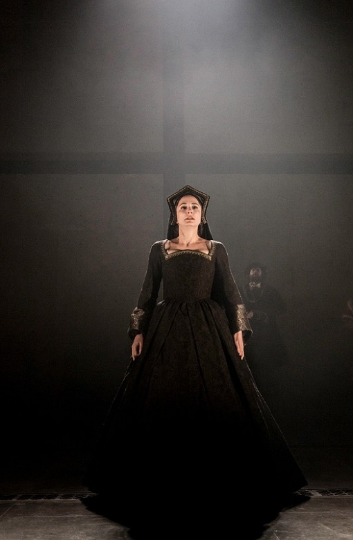 Anglophiles currently delight at Lydia Leonard's Tony Award niminated performance as Queen Anne Boleyn at the Winter Garden Theater on Broadway. Picture Credit: The Royal Shakespeare Company