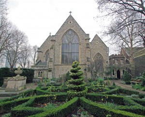 The Garden Museum,  formally St. Mary's - at  - Lambeth, burial place of Elizabeth Boleyn
