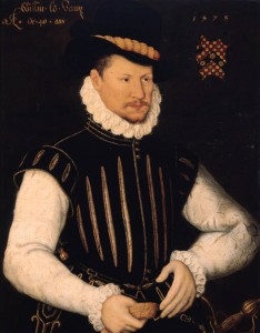 William Vaux, 3rd Baron Vaux of Harrowden was father of Eleanor Brooksby and Anne Vaux.