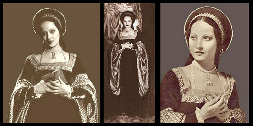 Merle Oberon as Anne Boleyn