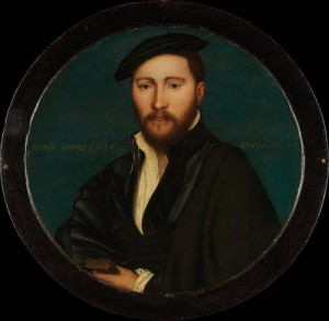 This portrait by Hans Holbein the Younger is thought by some art historians to be Sir Ralph Sadler.