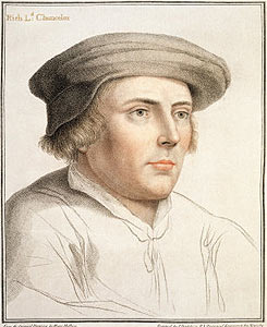 Richard Rich, Baron Rich of Leez Artist: Hans Holbein the Younger