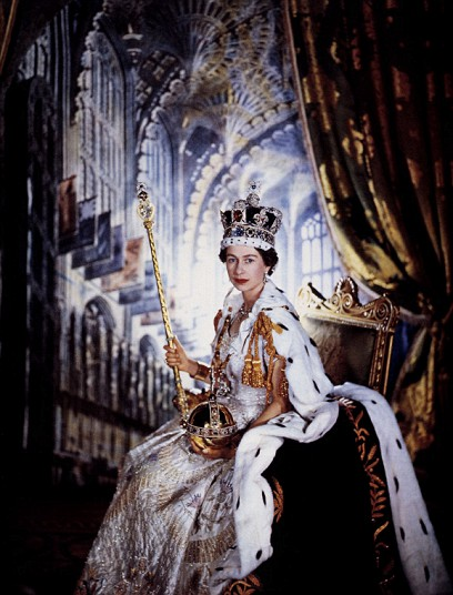 Queen Elizabeth II on Her Coronation Day