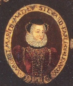 Margaret Douglas, Countess of Lennox (Miniature, Artist Unknown)