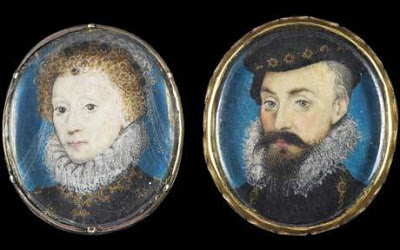 Elizabeth, Regina and Robert Dudley. Earl of Leicester
