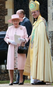 Queen Elizabeth II and Justin Welby, Archbishop of Canterbury