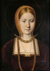 Catalina de Aragón Artist: Michael Sittow