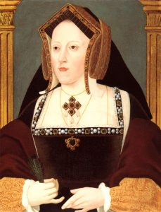 Katherine of Aragon Artist: Lucas Horenbout
