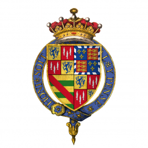 Coat of Arms of Henry Percy, 6th Earl of Northumberland, KG