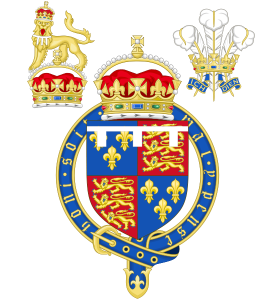 Coat of Arms of the Tudor Princes of Wales