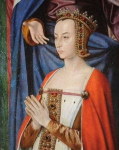 Anne de Beajeu (cropped from a triptych by Master of Moulins)