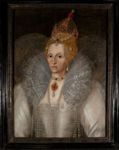A Rare Tudor Era Portrait of an Aged Elizabeth, Regina Artist: Unknown