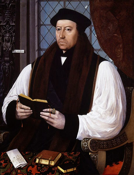 Archbishop Thomas Cranmer, by Gerlach Flicke