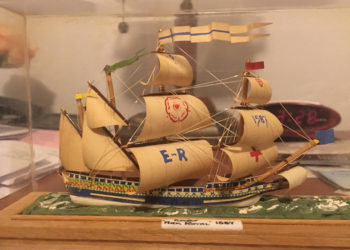 """""""The Ark Royal""""  by Heather R. Darsie (with help from Burns Darsie III)"""