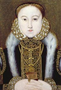 Lady Elizabeth Tudor, 1555