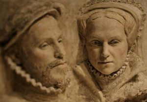 Philip II & Mary Tudor, by PORTRAIT SCULPTOR, Suzie Zamit