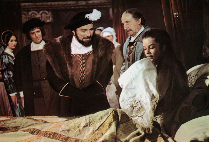 Richard Burton and Geneviève Bujold, ANN OF THE THOUSAND DAYS