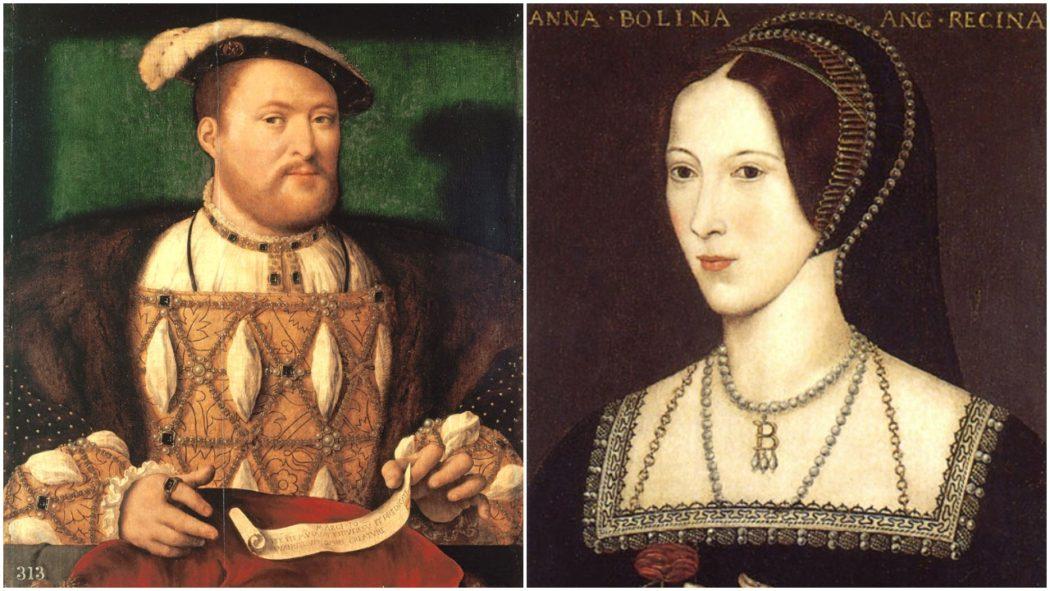 Henry VIII and Queen Anne Boleyn