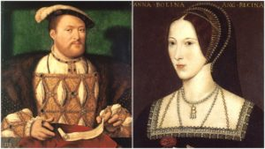 Henry VIII and Queen Anne Boleyn