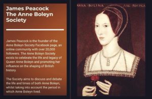Anne Boleyn with James Peacock