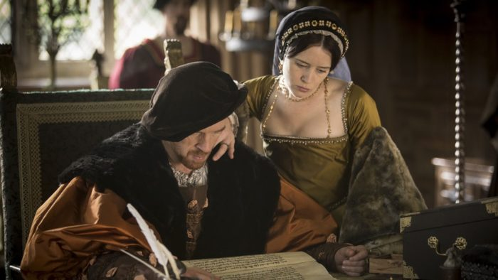 Damian Lewis and Claire Foy, WOLF HALL
