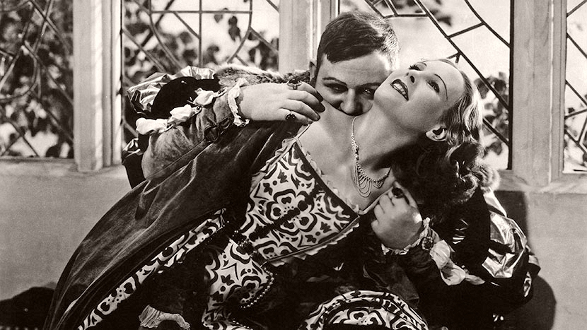 Charles Laughton and Merle Oberon, THE PRIVATE LIFE OF HENRY VIII